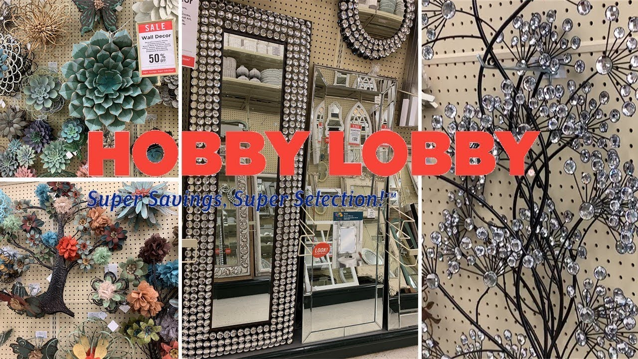 Hobby Lobby Mirror Metal Wall Decor 50 Off Shop With Me March 2019 Farmhouse Home Decor Youtube