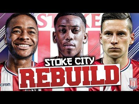 REBUILDING STOKE CITY!!! FIFA 18 Career Mode