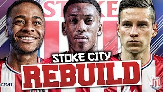 REBUILDING STOKE CITY!!! FIFA 18 Career Mode