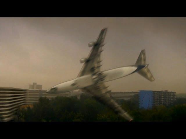 El Al Flight 1862 crashes in the Amsterdam Suburbs