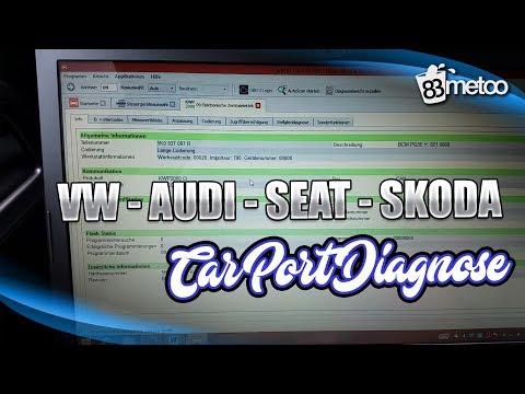 VW, AUDI, SEAT und Skoda mit Car Port Diagnose codieren