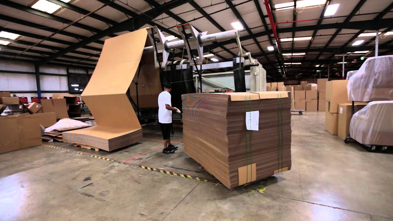 Flexsteel a commercial furniture company using packsize for Furniture companies
