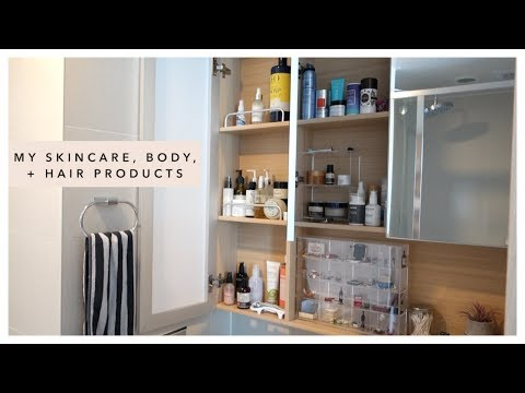 What's In My Medicine Cabinet (skincare, body, hair products