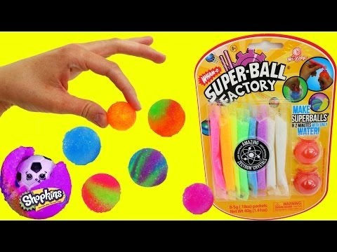 DIY BOUNCY BALLS Rainbow Colored Bouncy Balls Super Fun For Kids by DisneyCarToys