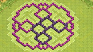 Clash Of Clans - Best Town Hall 7 Farming Base ( th7 ) !! ( The Ring) Speed Build 2014