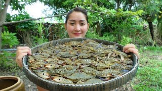 Yummy Blue Crab Crispy Frying Recipe - Blue Crab Crispy Cooking - Cooking With Sros