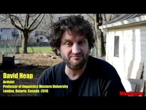 Get To Know An Activist: David Heap *The Indignants*