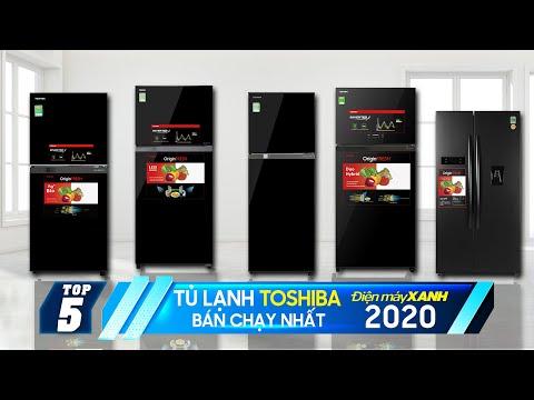 Top 5 tủ lạnh Toshiba bán chạy nhất Điện máy XANH 2020