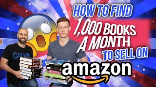How Romer Consistently Sources 1,000 Books Per Month to Sell on Amazon FBA