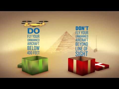 The FAA explains how to 'stay off the naughty list' with your new drone