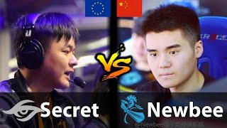 Secret vs Newbee - [SEAcret vs CHINA's 9K] - Dota 2 6.88d