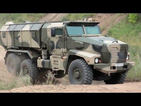 Industrie Russland - Ural-63099 Typhoon MRAP Vehicle & Other Military Trucks [720p]
