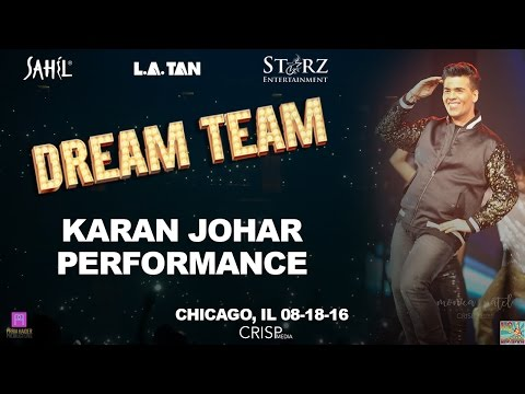 Karan Johar Performance- DREAM TEAM Chicago 2016