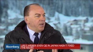 Politicians Need to Step Up and Do Their Jobs: UBS Chairman Axel Weber