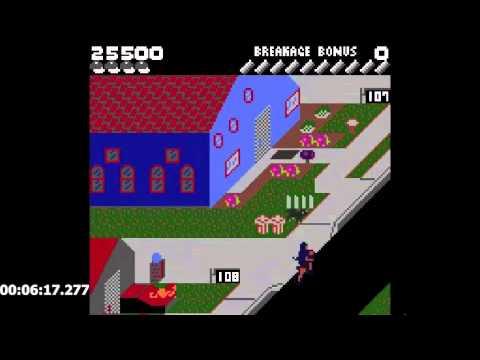 Paperboy (GBC) Easy Street Speedrun in 9:48.43