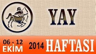 YAY Burcu, HAFTALIK Astroloji Yorumu, 6-12 EKİM 2014