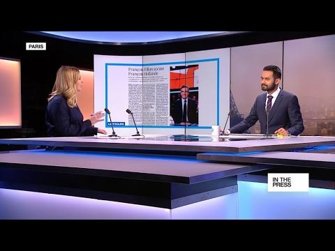 France's Fillon insists President Hollande is behind efforts to tarnish him
