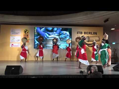 ITB Berlin 2016 – Live Shows 2016 – Palais am Funkturm – Burundi–THE SACRED DRUMS OF BURUNDI–Part 1