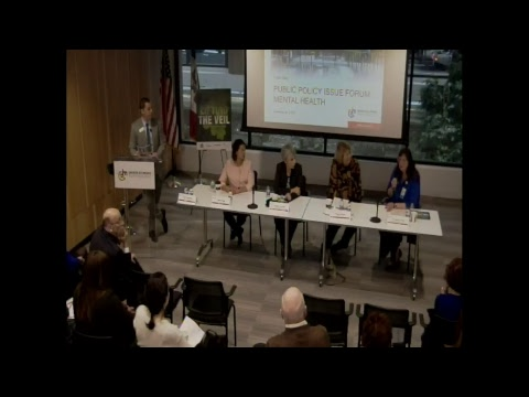 Public Policy Issue Forum on Mental Health
