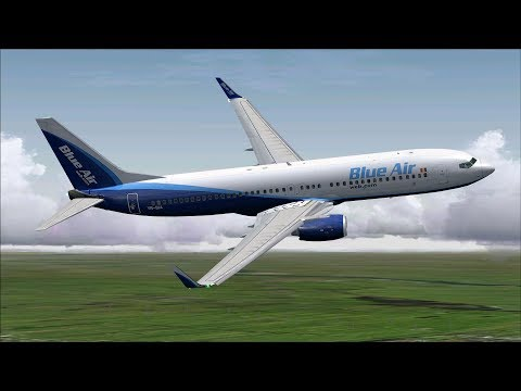 WARSAW/AMSTERDAM - BOEING 737-800 BLUE AIR