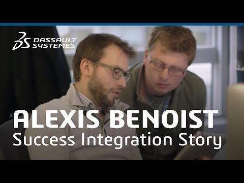 Alexis Benoist - Success Integration Story - Dassault Systèmes