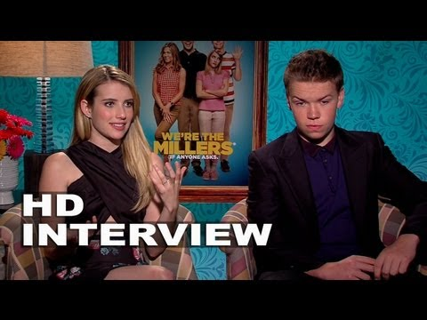 We're The Millers: Emma Roberts and Will Poulter