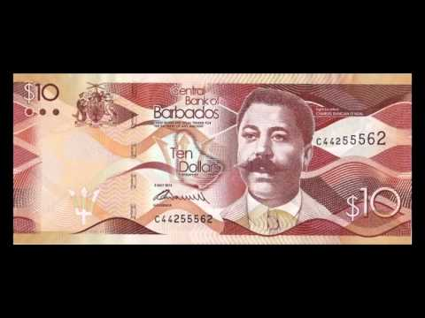 All Barbadian Dollar Banknotes - 2013 Issue