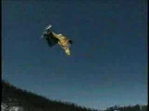 Mike Burton Snowboarder - 2001 Video