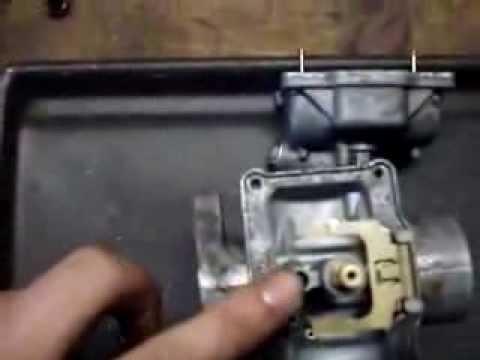 ATV Carburetor Cleaning & Adjustment  YouTube