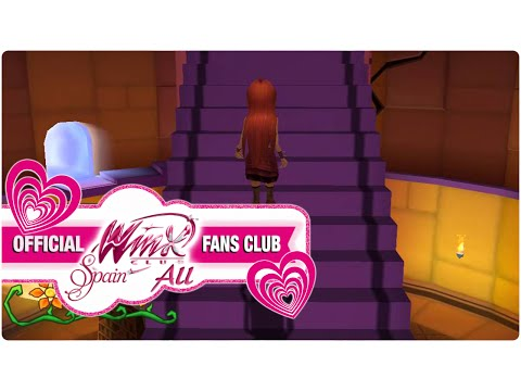 Winx Club PC Game - 15. Labyrinth in Cloud Tower