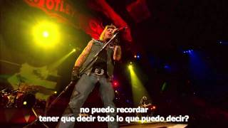 Motley Crüe - If I die tomorrow (Subtitulada)