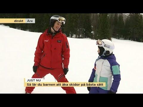 lära sig åka skidor som vuxen