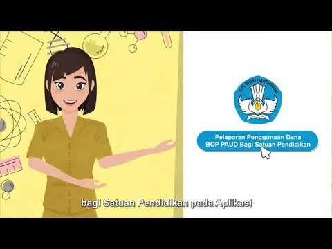 Cara Pelaporan Online Simdak Bop Paud 2020 Simdak Bop Paud Youtube