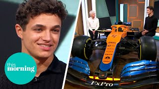 Rising F1 Star Lando Norris on Supporting His Mental Health & Following Lewis Hamilton| This Morning