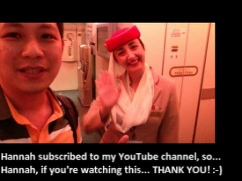 EMIRATES A380 FROM HONG KONG TO BANGKOK (Part 2)