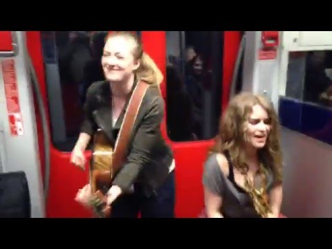 Subway Session Frankfurt KIDDO KAT and Heidi Joubert feat. Ozzy Lino