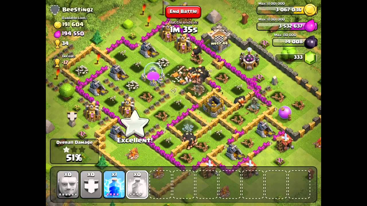 Clash Of Clans One Unit Series 14