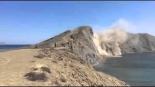 Обвал мыса Хамелеон в Крыму, Коктебель(, 2016-05-04T06:19:01.000Z)