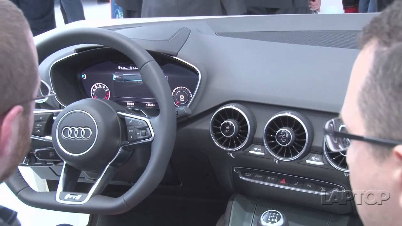 audi virtual cockpit ces 2014 youtube. Black Bedroom Furniture Sets. Home Design Ideas