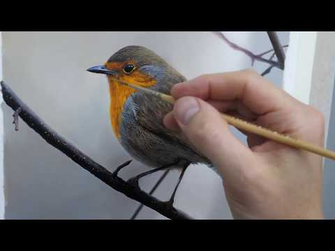 #106 How To Paint A Bird | Oil Painting Tutorial