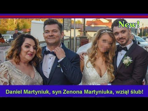 Daniel Martyniuk Syn Zenona Martyniuka Wziął ślub Wesele Warte