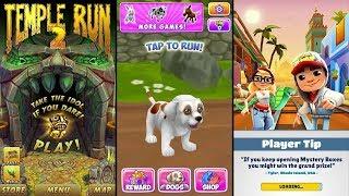 Temple Run 2 Sky Summit Vs Dog Run Pet Dog Simulator Vs Subway Surfers Marrakesh