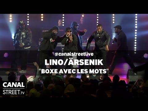 Youtube: Lino / Ärsenik – Boxe avec les mots en #canalstreetlive