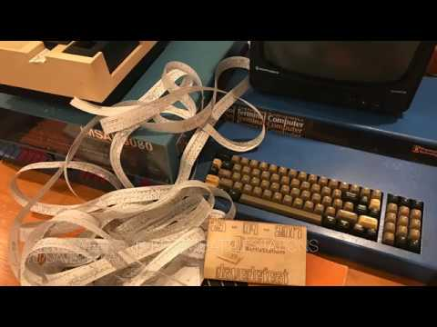 1977 Processor Technology SOL-20 Loading Pattern Generator via Paper Tape