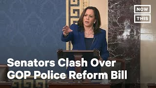 Kamala Harris Clashes With John Cornyn Over GOP Police Reform Bill | NowThis