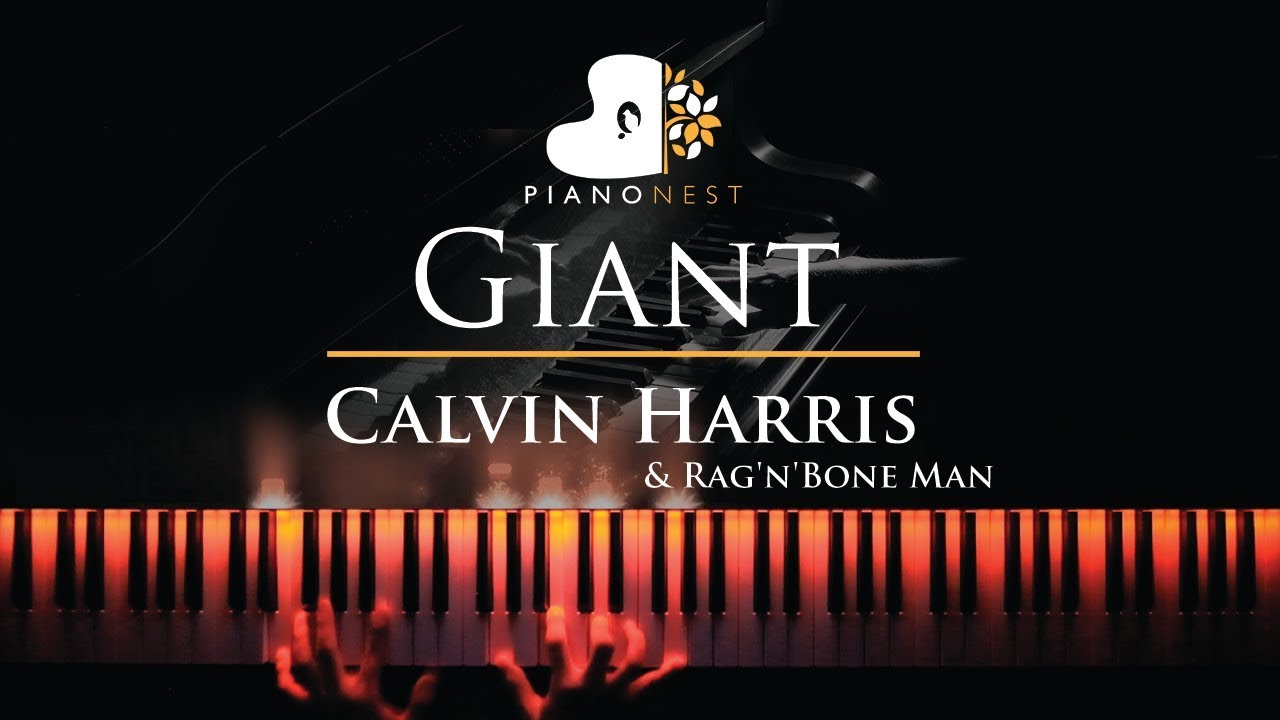 Calvin Harris, Rag'n'Bone Man - Giant - Piano Karaoke / Sing Along Cover  with Lyrics