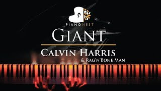 Baixar Calvin Harris, Rag'n'Bone Man - Giant - Piano Karaoke / Sing Along Cover with Lyrics