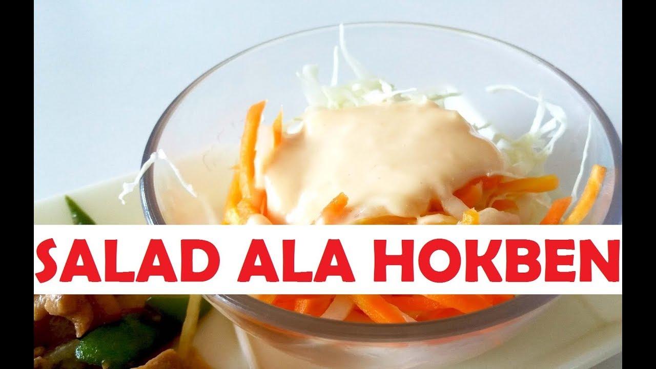 Cara Membuat Salad Ala Hokben Segar Youtube