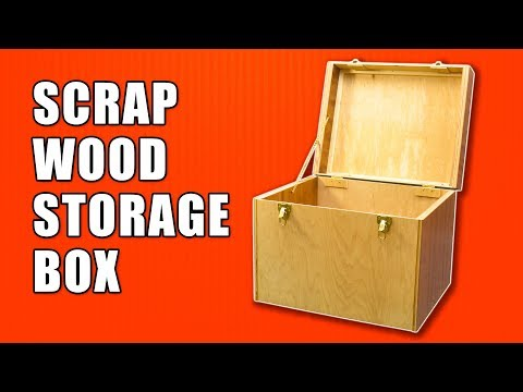 Wooden Box Making - Scrap Wood Projects