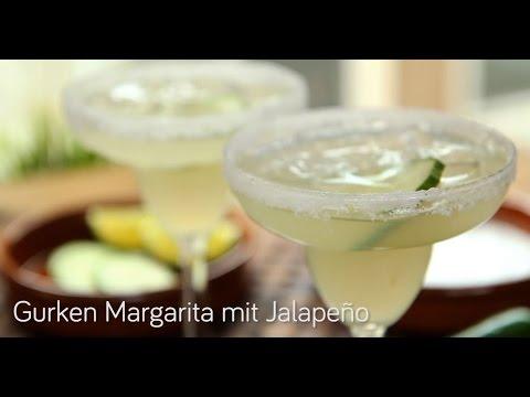 Gurken Margarita mit Jalapeno
